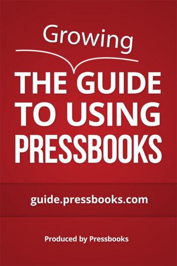 Cover image for Pressbooks on Buffscreate Guide